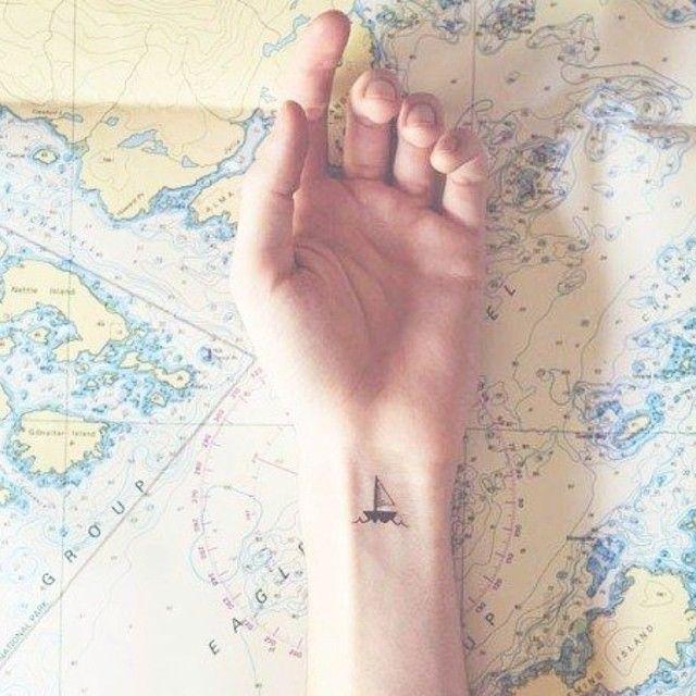 15 Mini Tatuaży Dla Prawdziwych Podróżników Eat Travel