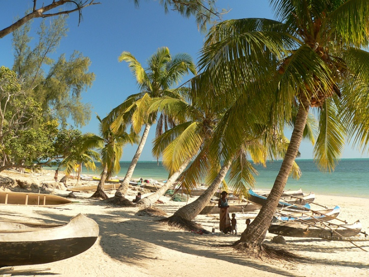 Beach_in_Madagascar_with_pirogues_and_palm_trees-2